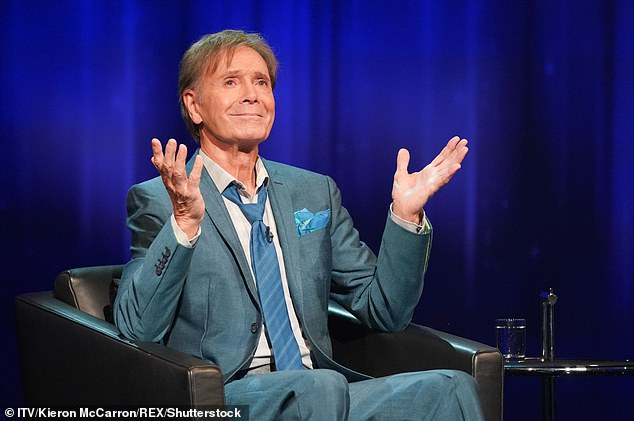 Sir Cliff Richard, pictured, has admitted he has found difficulties with some styles of music such as rap
