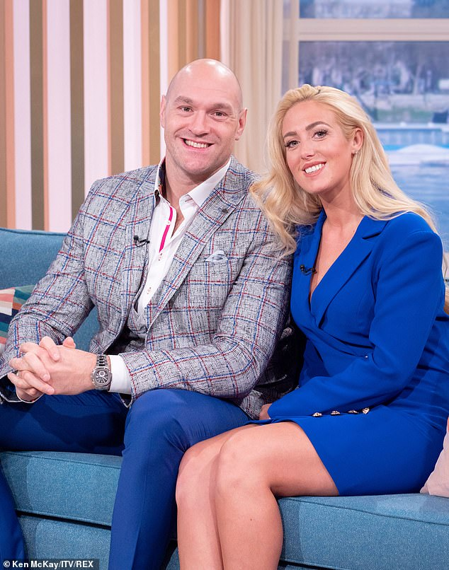 New venture:Tyson Fury's wife Paris 'has landed a role as a panellist on Loose Women after her guest appearance on the show was a big hit with viewers', it was reported on Saturday