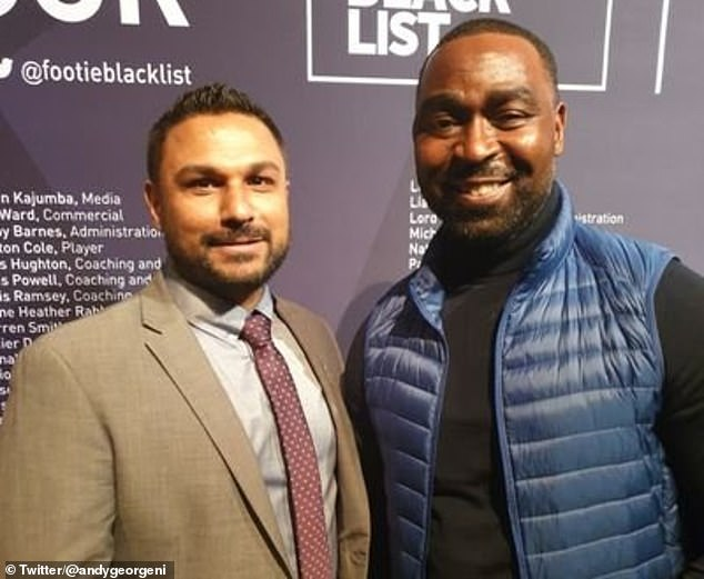 The officer (left), born in County Armagh to a Malaysian father and Northern Irish mother, said this often takes away from 'wider issues on things that are impacting on black and minority ethnic communities everyday'