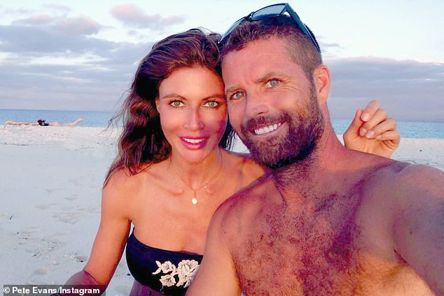The former celebrity chef (pictured with his partner), 47, has stood firm in his belief that the deadly respiratory virus is 'fake', a 'conspiracy' or a scare campaign driven by the media and politicians - theories that have been repeatedly dispelled by scientists and medical professionals