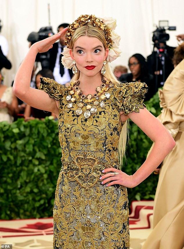 Anya Taylor-Joy attending the Metropolitan Museum of Art Costume Institute Benefit Gala 2018 in New York, USA