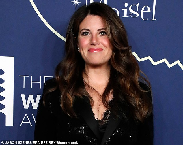 Reclaiming the narrative: Lewinsky told Vanity Fair last August: 'People have been co-opting and telling my part in this story for decades. In fact, it wasn't until the past few years that I've been able to fully reclaim my narrative; almost 20 years later' (pictured in May, 2019)