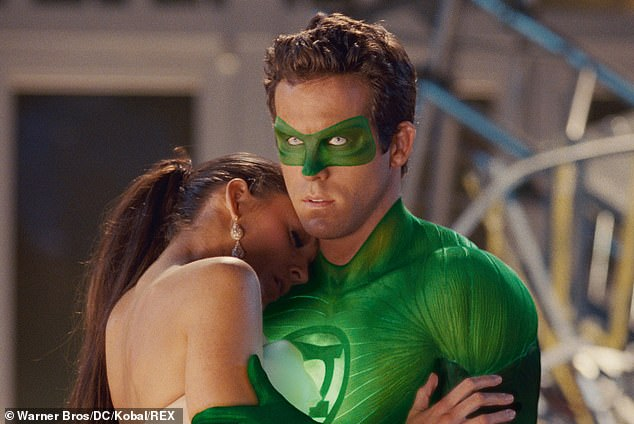 Onscreen romance: He and Lively tied the knot in September of 2012, after meeting on the set of their 2011 superhero flick Green Lantern, in which they shared an onscreen romance