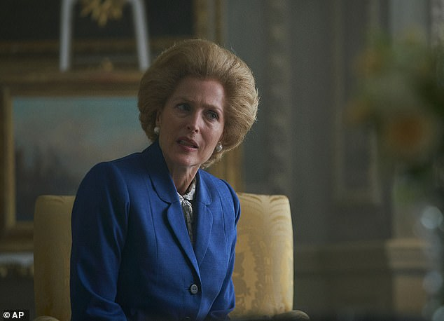 The new season alsosees Gillian Anderson's Margaret Thatcher joining Olivia Coleman's Queen Elizabeth in the show for the first time