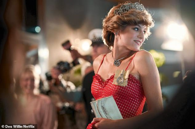 The show will also follow Princess Diana's heartbreaking battle with bulimia, with actress Emma Corrin, 24, vomiting after eating in scenes