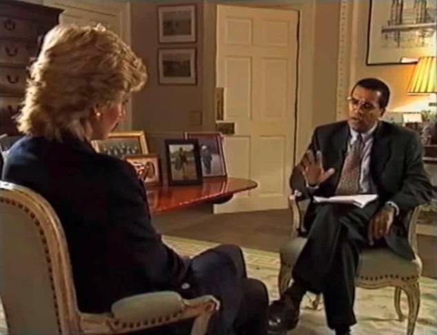 He claimed Diana was 'used' by Martin Bashir (pictured in 1995) for her explosive 1995 Panorama interview