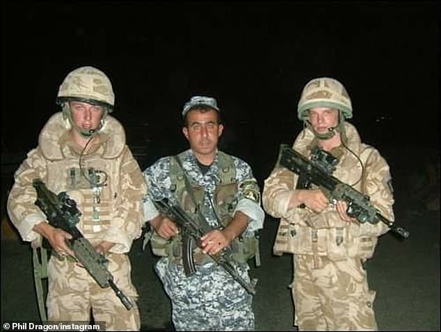 Cpl Dragon, of the 4 Battalion Royal Electrical and Mechanical Engineersserved on two tours of Iraq