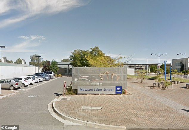 Mawson Lakes Primary School and Preschool in Adelaide's north (pictured) is closed for cleaning on Monday after a student was found to be a close contact of an infected person