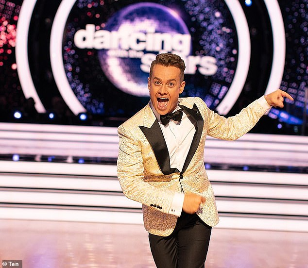 Speaking up:Grant Denyer (pictured) has addressed the cancellation of Dancing with the Stars, while hinting that the show could return to the airwaves