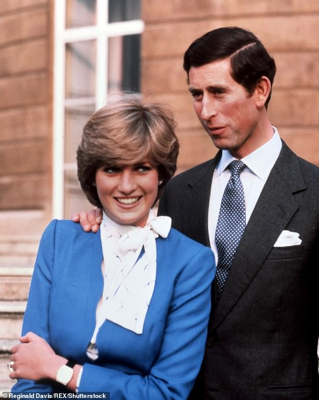 Background: The season portrays Diana's entrance in the Royal Family , as well as her incompatibility with Prince Charles due to their near 13-year age difference (pictured in 1981)