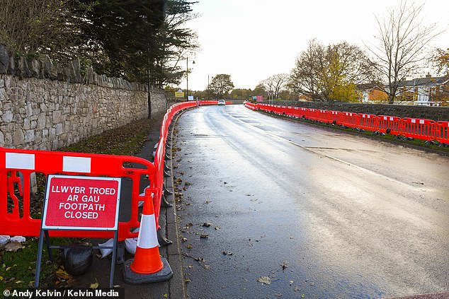Precautions:Pavements in front of the main entrance have been blocked off to stop people congregating and a camp site and Manorfan Farm Park next to the castle have also been closed