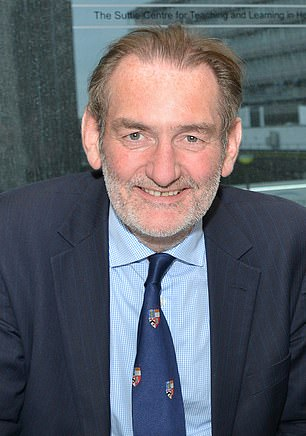 Sir Ian (pictured) said the Government is committed to 'openness and transparency' with how data on coronavirus is presented