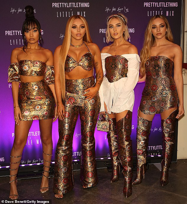 Hit songs: [L-R] Leigh-Anne Pinnock, Jesy Nelson, Perrie Edwards and Jade Thirlwall recorded Break Up Song and Holiday on the day they 'got merry'