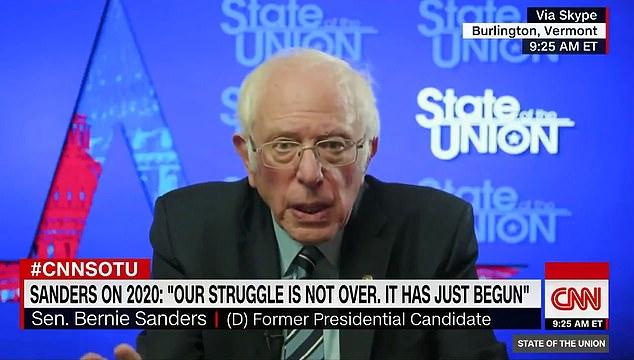 Bernie Sanders (pictured): '