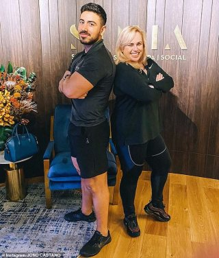 Rebel Wilson's personal trainer Jono Castano reveals the secret to her 20kg weight loss success