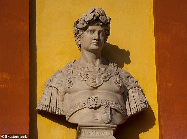 Bust of Emperor Caligula in Modena, Italy. He is generally considered Rome's most tyrannical emperor. (Stock image)