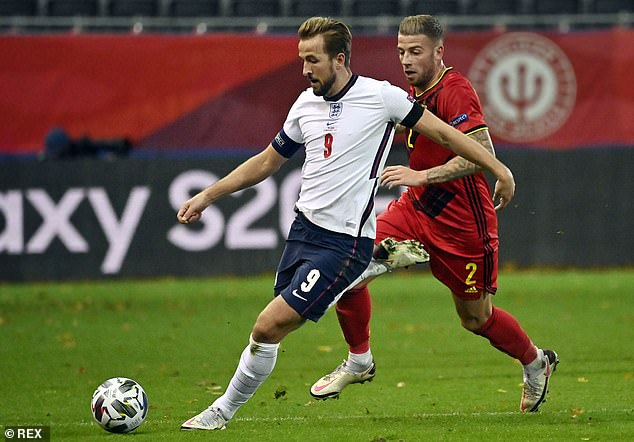 Key Spurs players Harry Kane and Toby Alderweireld both played 90 minutes on Sunday
