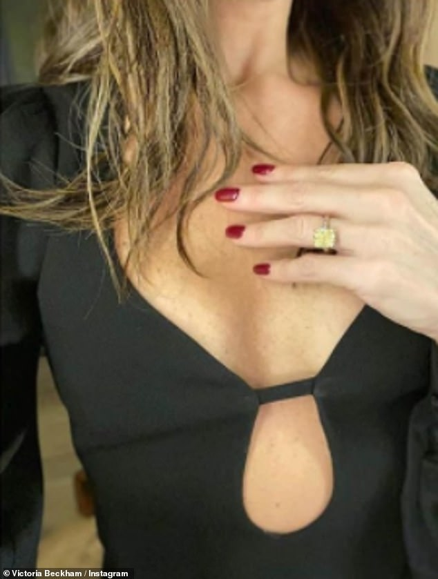 Goodness!Posting a sultry video and even more sizzling snaps, Victoria knew how to work her best angles as she posed up a storm in the ensemble