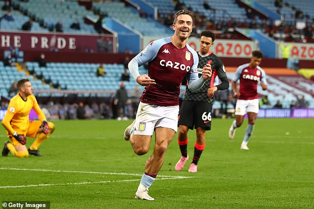 Grealish is enjoying his best campaign and was the most fouled Premier League player