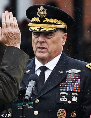 Chairman of Joint Chiefs Mark Milley