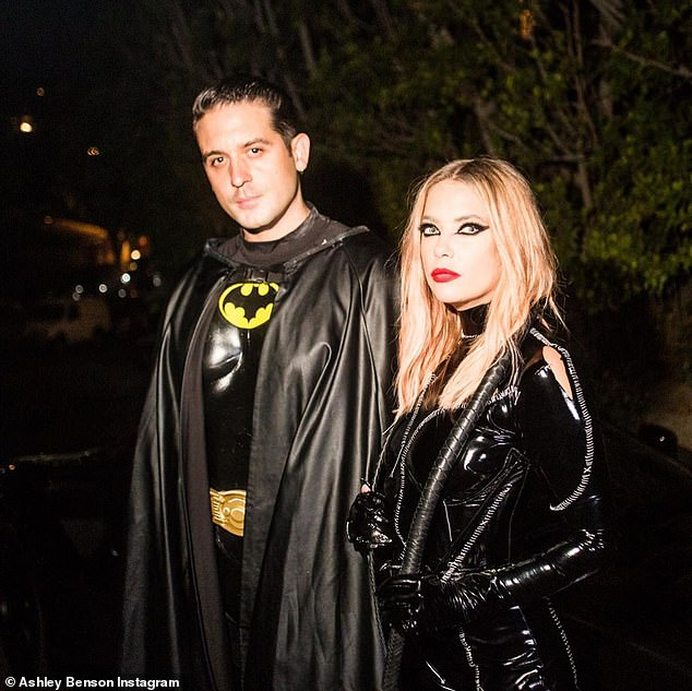 Couple: The two got together after the Pretty Little LIars alum broke up with girlfriend of two years, model and actress Cara Delevingne.G-Eazy previously dated singer Halsey