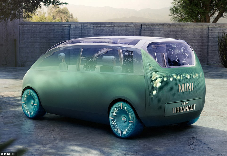 Vision Urbanaut comes as Prime Minister Boris Johnson is expected to announce the banning of all new petrol and diesel cars from 2030, and hybrids from 2035, with only pure electric vehicles available for sale after that date