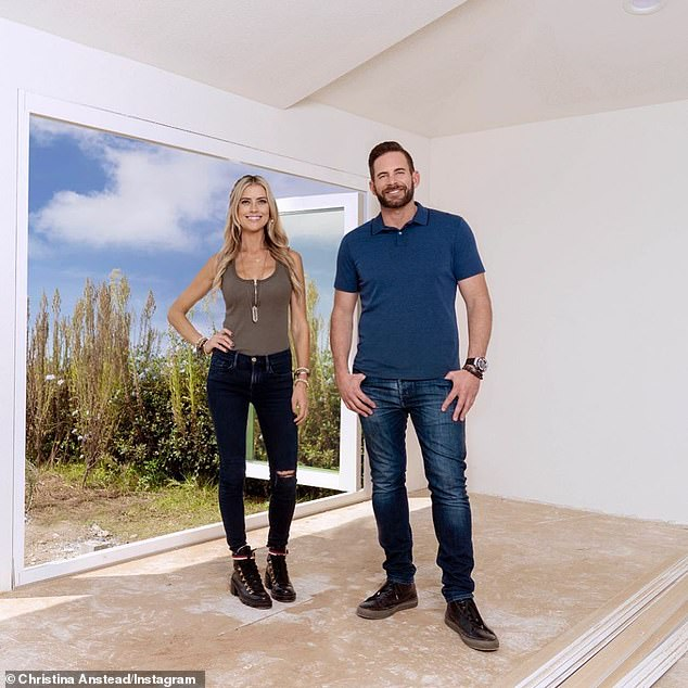 Still has her show with her ex: The beauty on Flip Or Flop with ex-husband Tarek El Moussa
