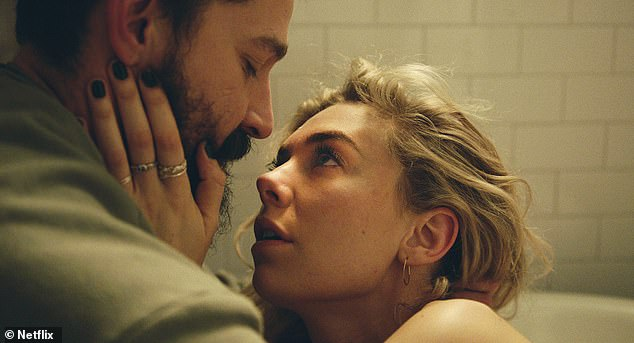 Vanessa Kirby and Shia LaBeouf play the roles of the couple - Martha and Sean - who live in Boston.  Martha is pregnant and has arranged for a home birth - but it is wrong.