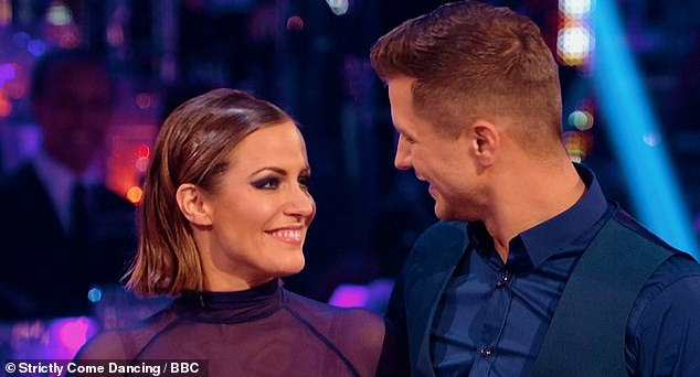 Devastated: Strictly gave a touching tribute to their former contestant last month, she won the 2014 series withPasha Kovalev and Joe said the tribute was 'almost too much to bear'