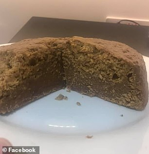 Others shared their own versions of the cake asking for tips and tricks on baking it - with some complaining of burned edges while others recommended putting a towel over the slow cooker to bake.