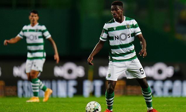 Sporting Lisbon defender Nuno Mendes