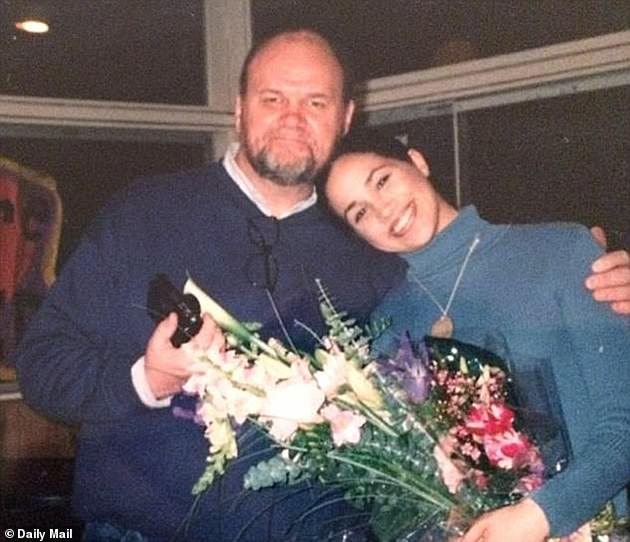 The newspaper's case is that Mr Markle (pictured with Meghan) asked her to publish excerpts from the letter, to set the record straight, as a few days earlier her daughter's friends had revealed her existence - and mistakenly referred to it as a `` love '' letter - in an anonymous interview, they gave US magazine People