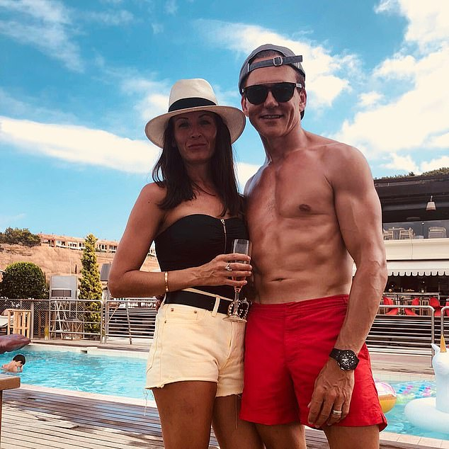 Tight grip: Hut Group founder and chief exec Matt Moulding gets £19.4m a year as company landlord and, with his wife Jodie (pictured), owns a £553m stake in the firm