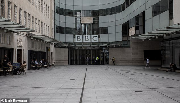 The BBC (BBC Broadcasting House, pictured) has been slammed for blowing an eye-watering £350,000 on unused taxis, train fares and hotel stays in the last five years alone, figures have revealed