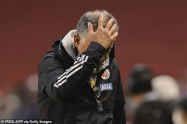 The result leaves former Manchester United assistant Carlos Queiroz on the brink of the sack