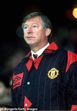 Manchester United's legendary manager Ferguson signed Kanchelskis in March 1991