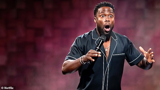 'His stand-up isn't want it used to be': Kevin Hart has left his fans divided as his new Netflix stand-up show, Kevin Hart: Zero F***s Given, was released this week