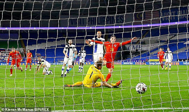 Wales's Harry Wilson broke the deadlock against Finland in the 29th minute of the match