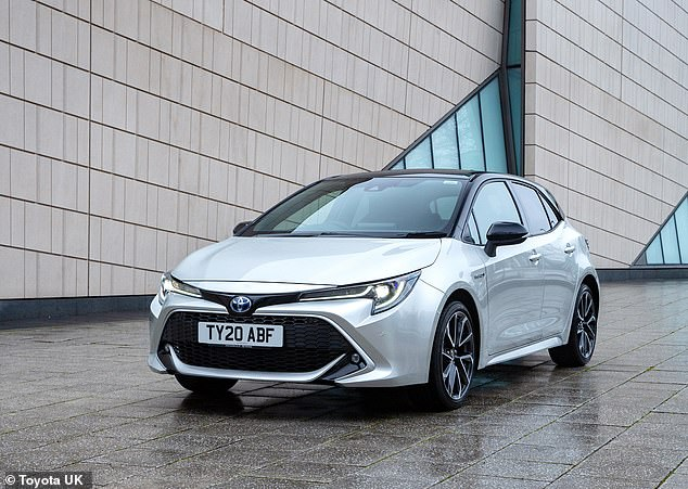 Toyota produces the hybrid-only Corolla family hatchback at its Brunaston plant in Derbyshire