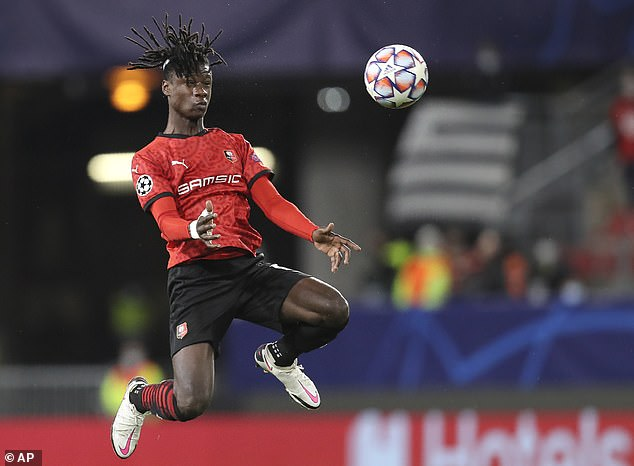 Eduardo Camavinga is one of Rennes' most important players despite being only 18-years-old