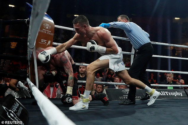Smith has been craving for a big fight since beating George Groves to become world champ