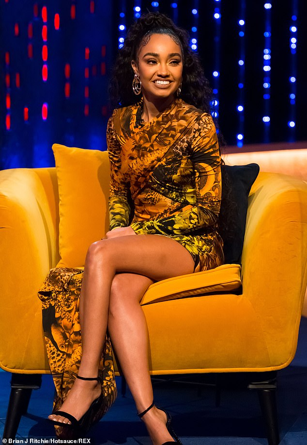 Difficult:Leigh-Anne says: 'People don't see how hard it is, the things that go on behind the scenes. People don't understand the pressure'