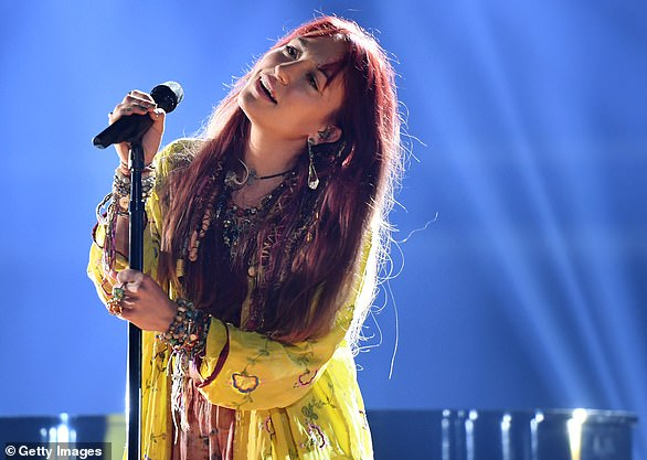 High praise: Devotional singer Lauren Daigle earned Favorite Artist - Contemporary Inspirational
