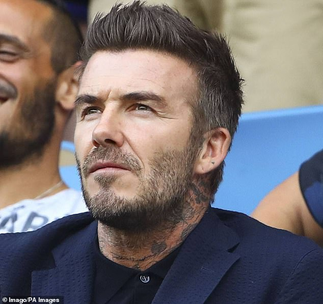 David Beckham (pictured) has become the latest star to back the Daily Mail's campaign for football to confront the scandal of dementia among former players