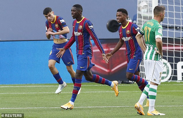 In just 13 months Dembele can start to negotiate with other teams regarding a free transfer