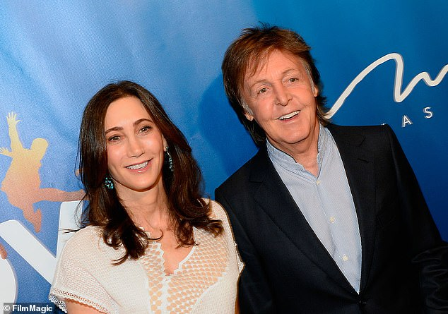 Happy couple: Paul is married to businesswoman Nancy Shevell (pictured 2016)