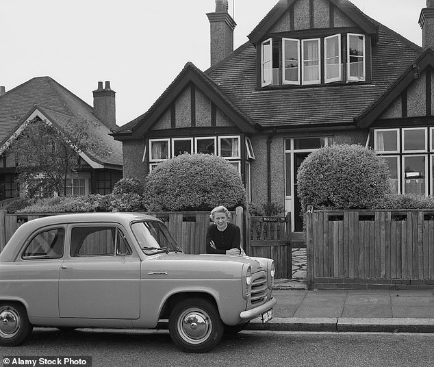 The 1950s utopia:Suburbs were invented by the British, with areas such as Hampstead Garden Suburb in North London conceived as an antidote to the crowds and noise of Central London
