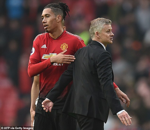 Chris Smalling has slammed Ole Gunnar Solskjaer and Manchester United for his departure