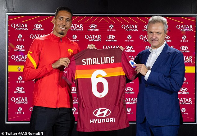 A late switch to Roma was secured but Smalling admits it was 'pretty much off' at some points