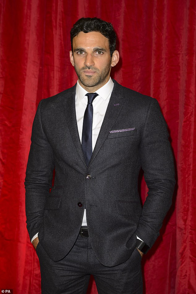 Exit confirmed:Viewers are already aware that Davood is leaving the BBC soap, with bosses confirming earlier this year that Kush leave in 2021, with a 'huge plot' planned for his departure